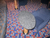 barska mizica iz kamna