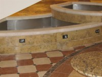 fontana v tlaku
