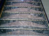 stopnice v kombinaciji dveh kamnov