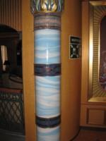 steber iz azul makalubas v kombinaciji mozaika